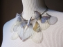 Silk Organza Butterflies Necklaces